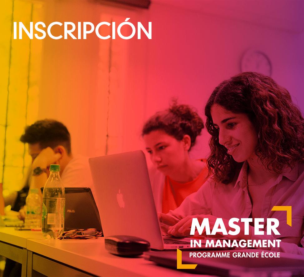 Master - Inscripción