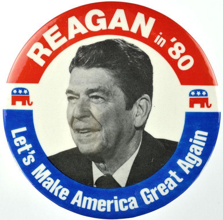reagan pin make america great again