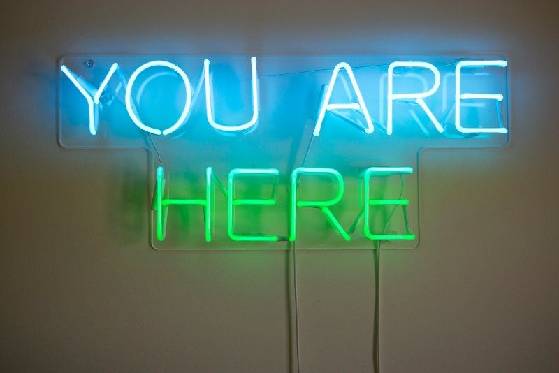 You are here mindfulness