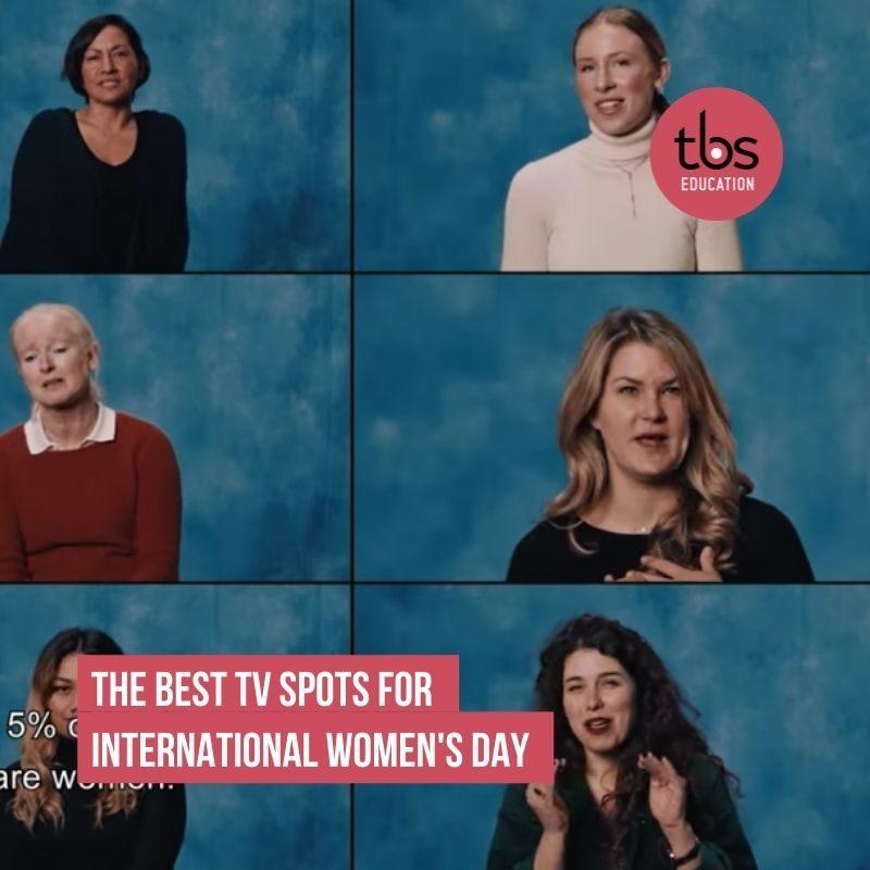 Mejores spots para el día de la mujer